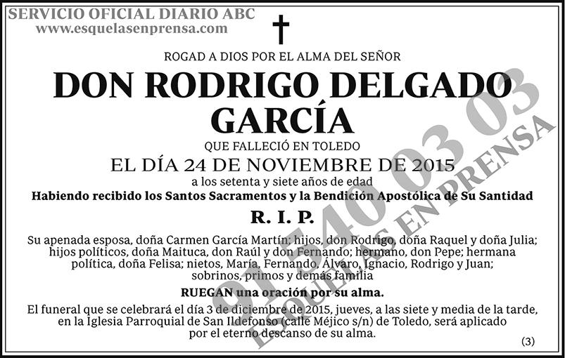 Rodrigo Delgado García